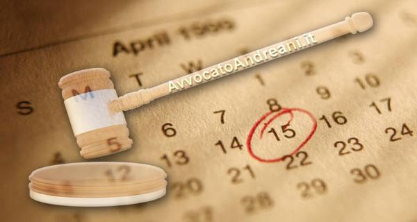 wholesale dealer 646ce 94dcb Calcolo Scadenze, Termini Processuali e Giorni tra Date ...