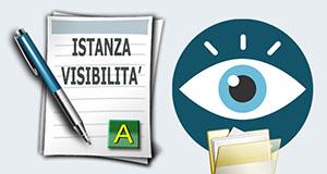 ISTANZA VISIBILITA' FASCICOLO TELEMATICO