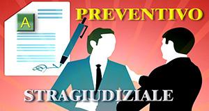 PREVENTIVO AVVOCATI per ATTIVITA' STRAGIUDIZIALI e MEDIAZIONE